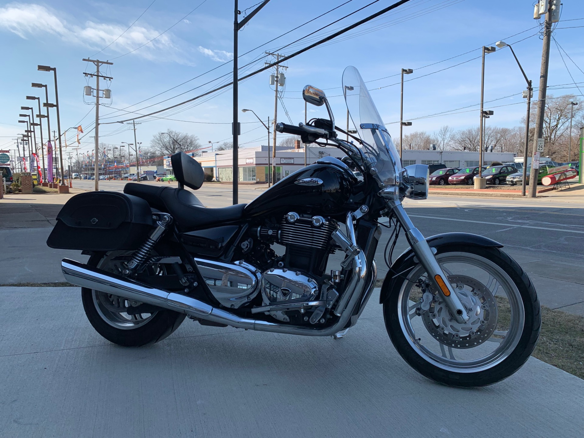 2012 Triumph Thunderbird ABS in Cleveland, Ohio - Photo 1