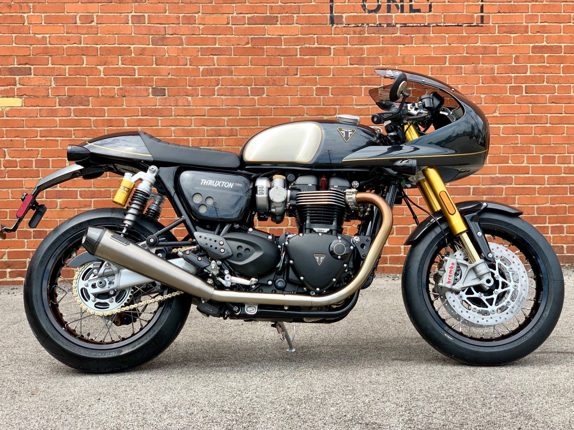 2020 Triumph Thruxton 1200 TFC in Cleveland, Ohio - Photo 1