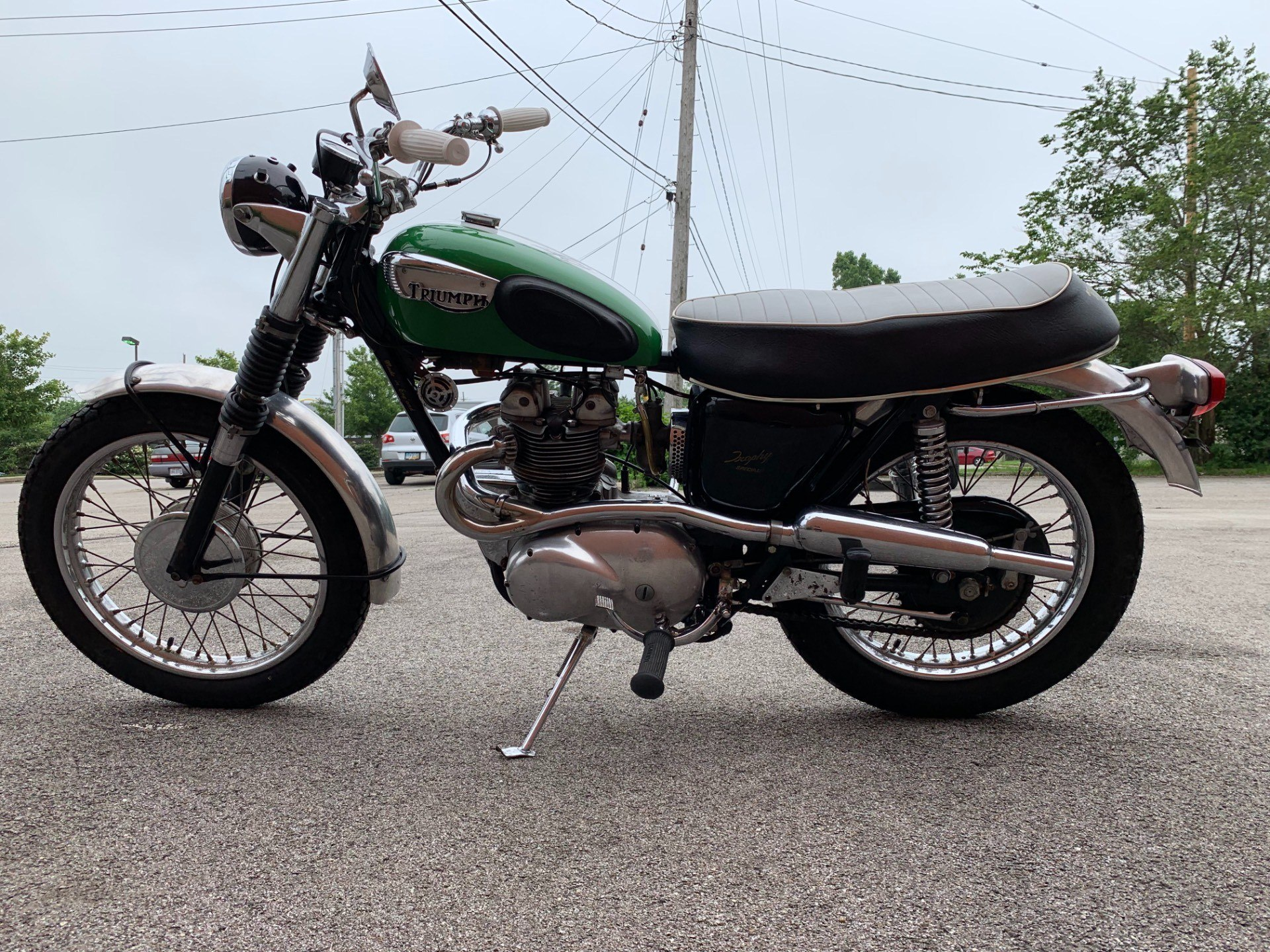 1966 Triumph T100C Trophy in Cleveland, Ohio - Photo 3