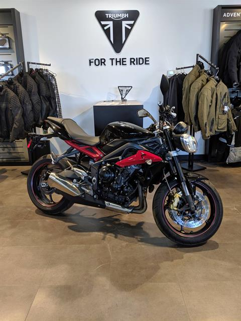 2014 Triumph Street Triple ABS in Cleveland, Ohio - Photo 1