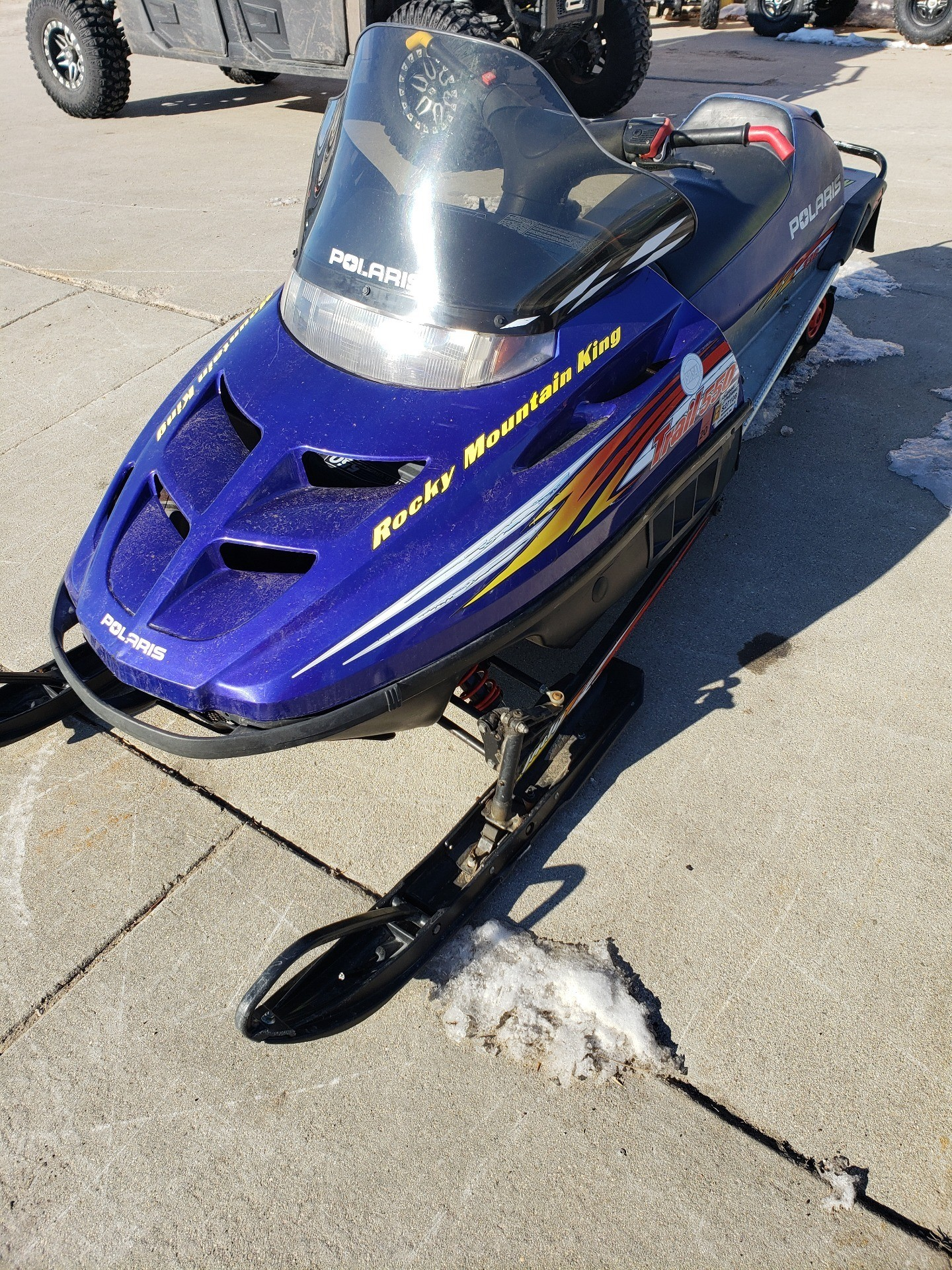 2001 Polaris TRAIL RMK in Ortonville, Minnesota