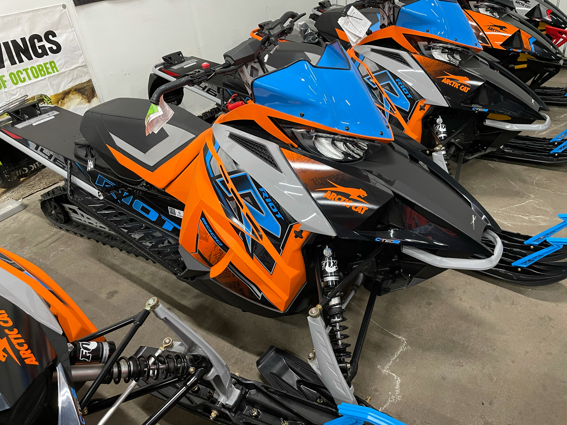 2021 Arctic Cat Riot 8000 1.35 QS3 ES in Ortonville, Minnesota - Photo 1