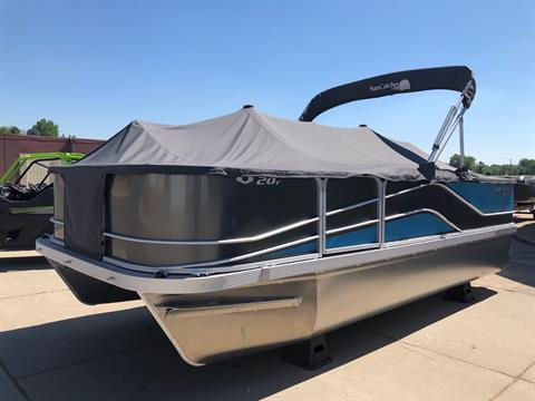 2018 G3 BOATS CHARCOAL/TURQUOISE METALL in Ortonville, Minnesota
