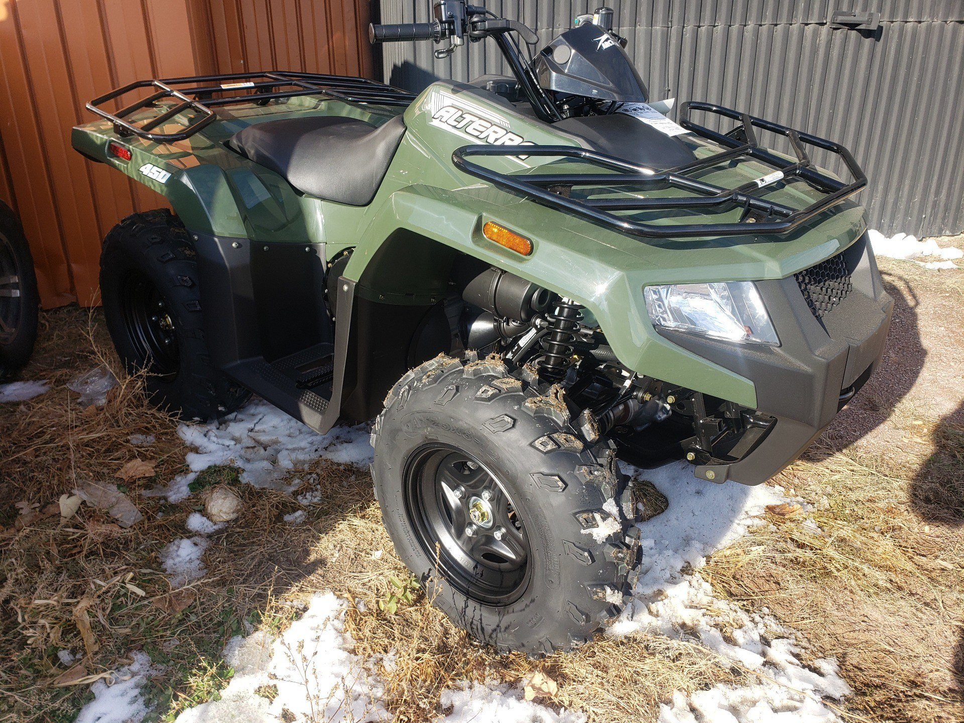 2021 Arctic Cat Alterra 450 in Ortonville, Minnesota - Photo 2
