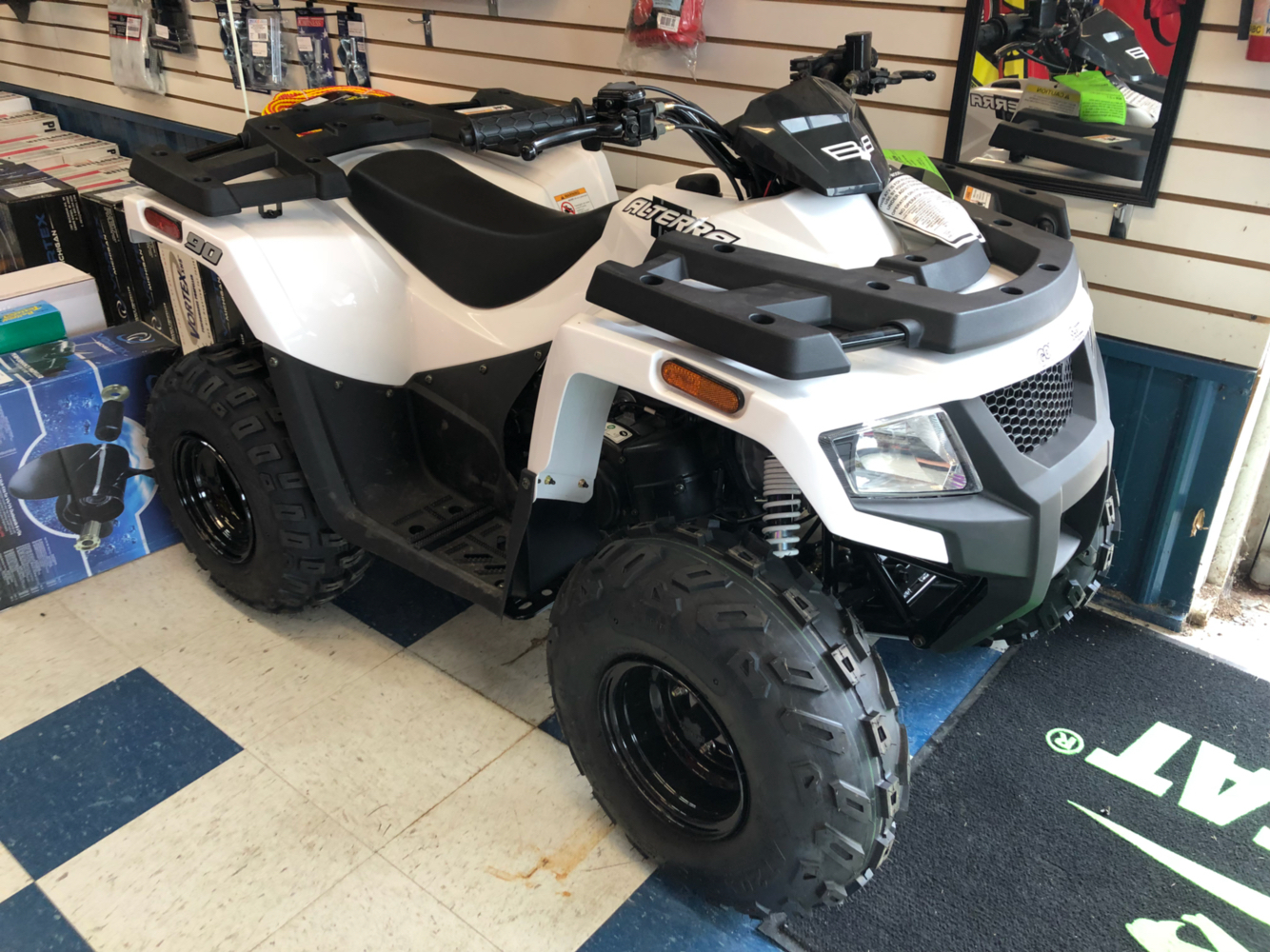 2018 Textron Off Road Alterra 90 in Ortonville, Minnesota