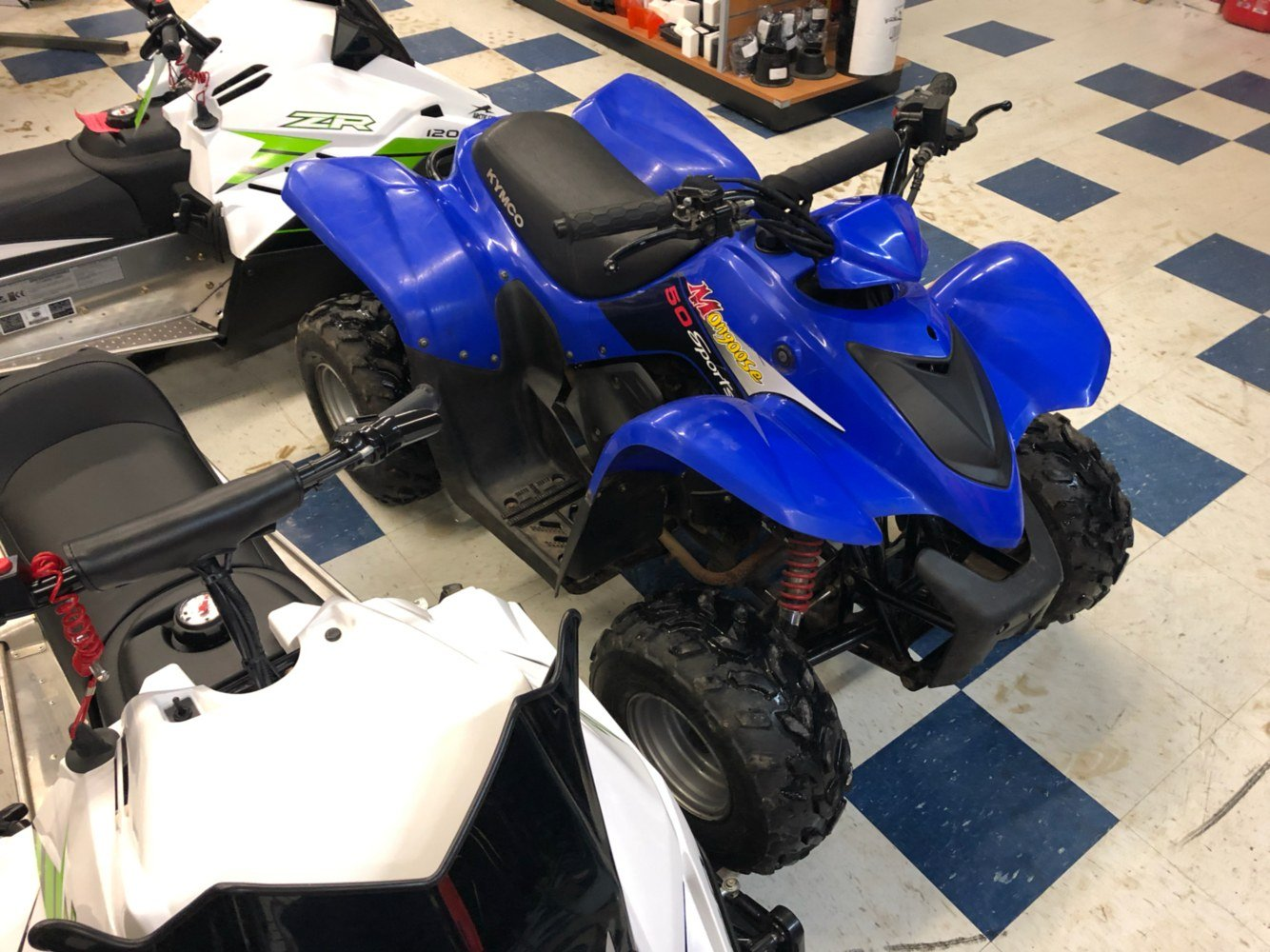 2004 Kymco Mongoose 50 in Ortonville, Minnesota