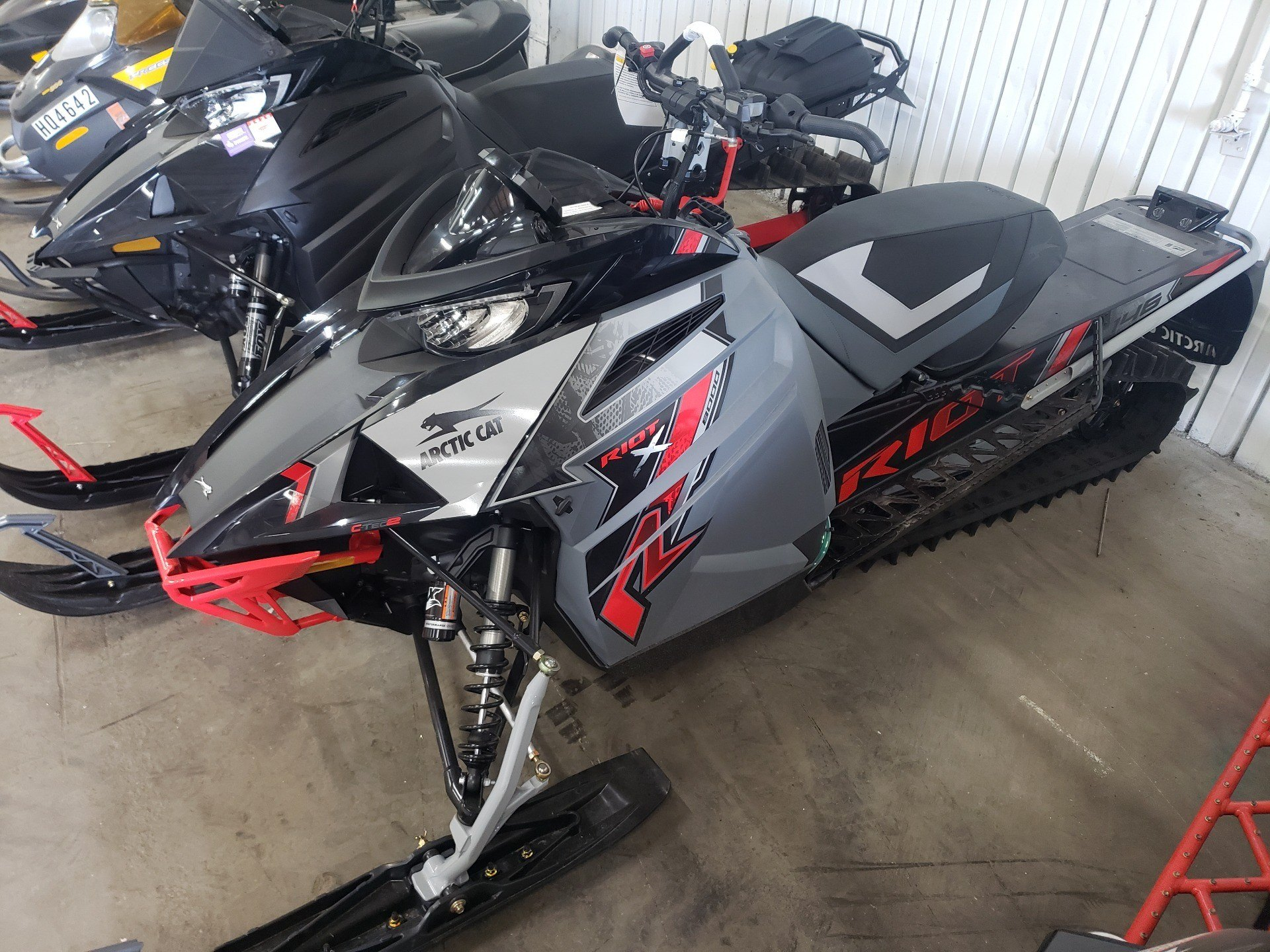 2021 Arctic Cat Riot X 8000 QS3 ES in Ortonville, Minnesota - Photo 1