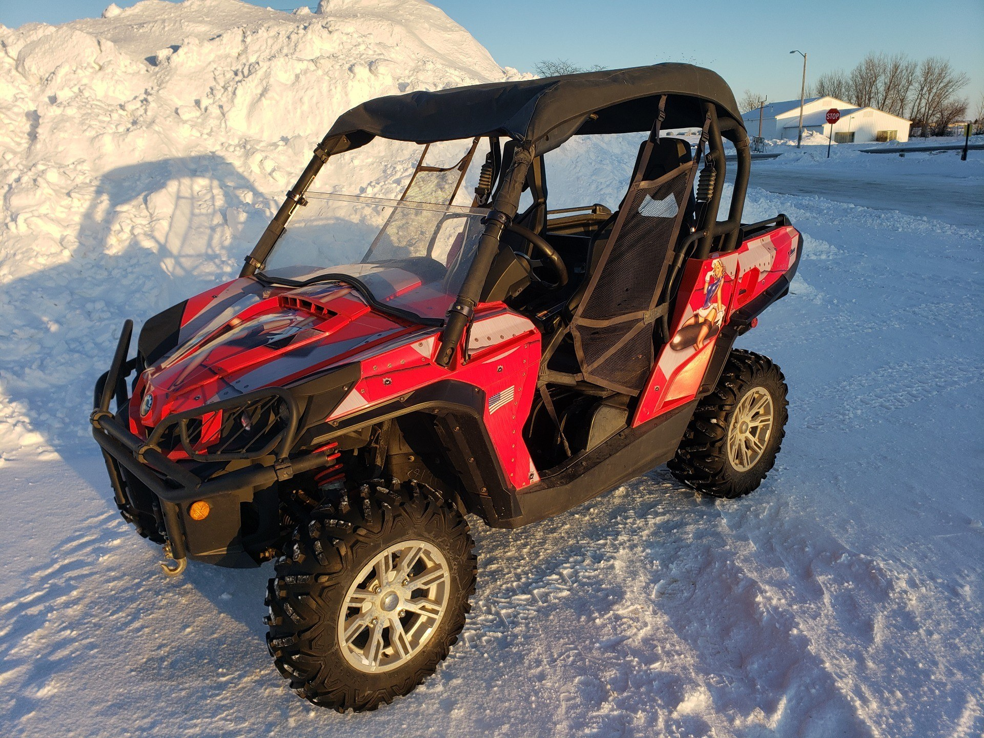 2012 Can-Am Commander™ 1000 XT in Ortonville, Minnesota - Photo 1