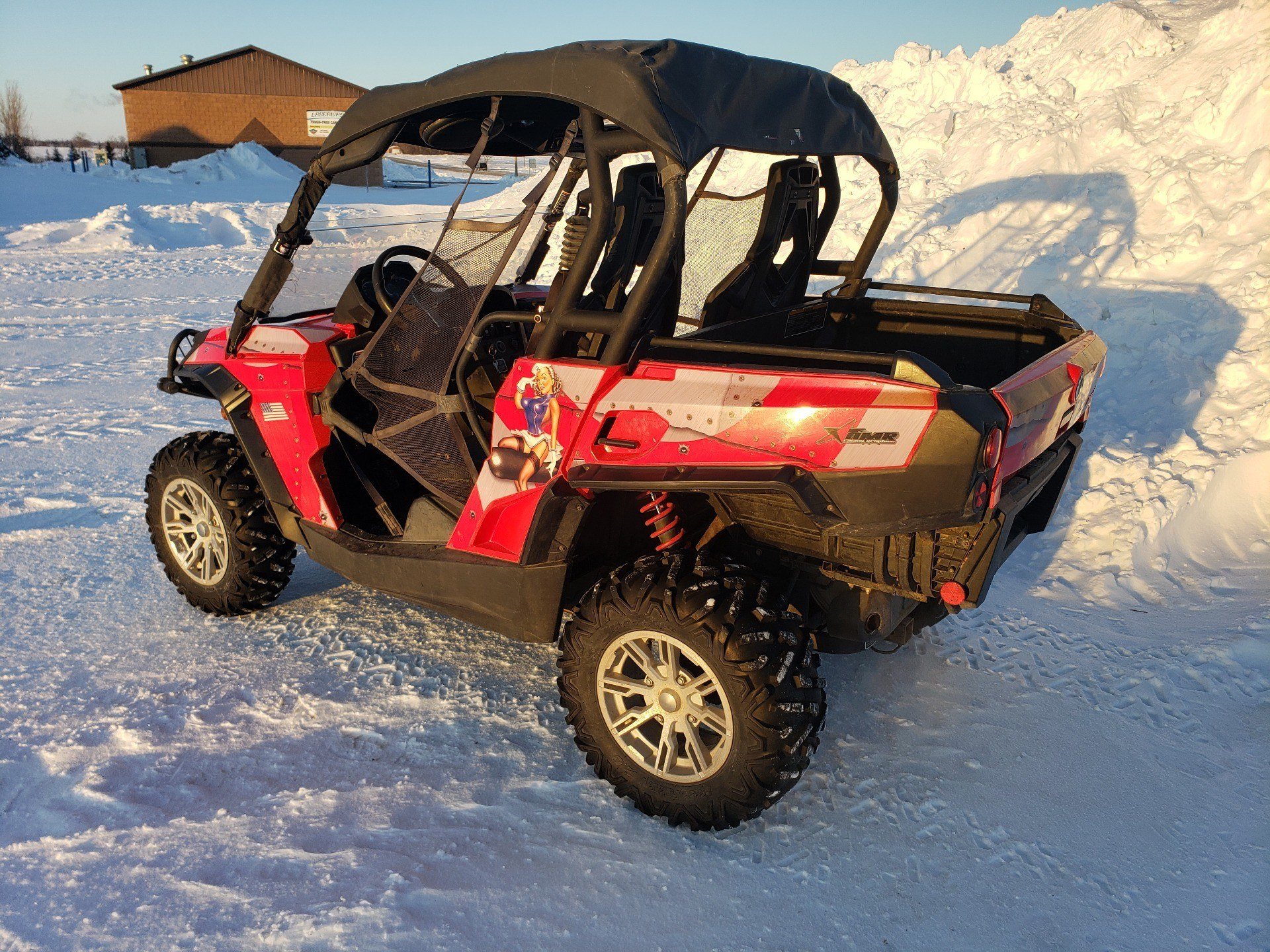 2012 Can-Am Commander™ 1000 XT in Ortonville, Minnesota - Photo 3