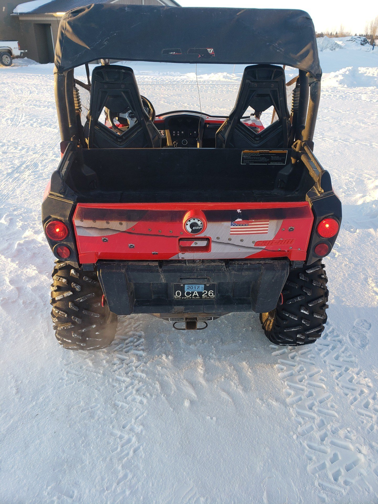 2012 Can-Am Commander™ 1000 XT in Ortonville, Minnesota - Photo 4