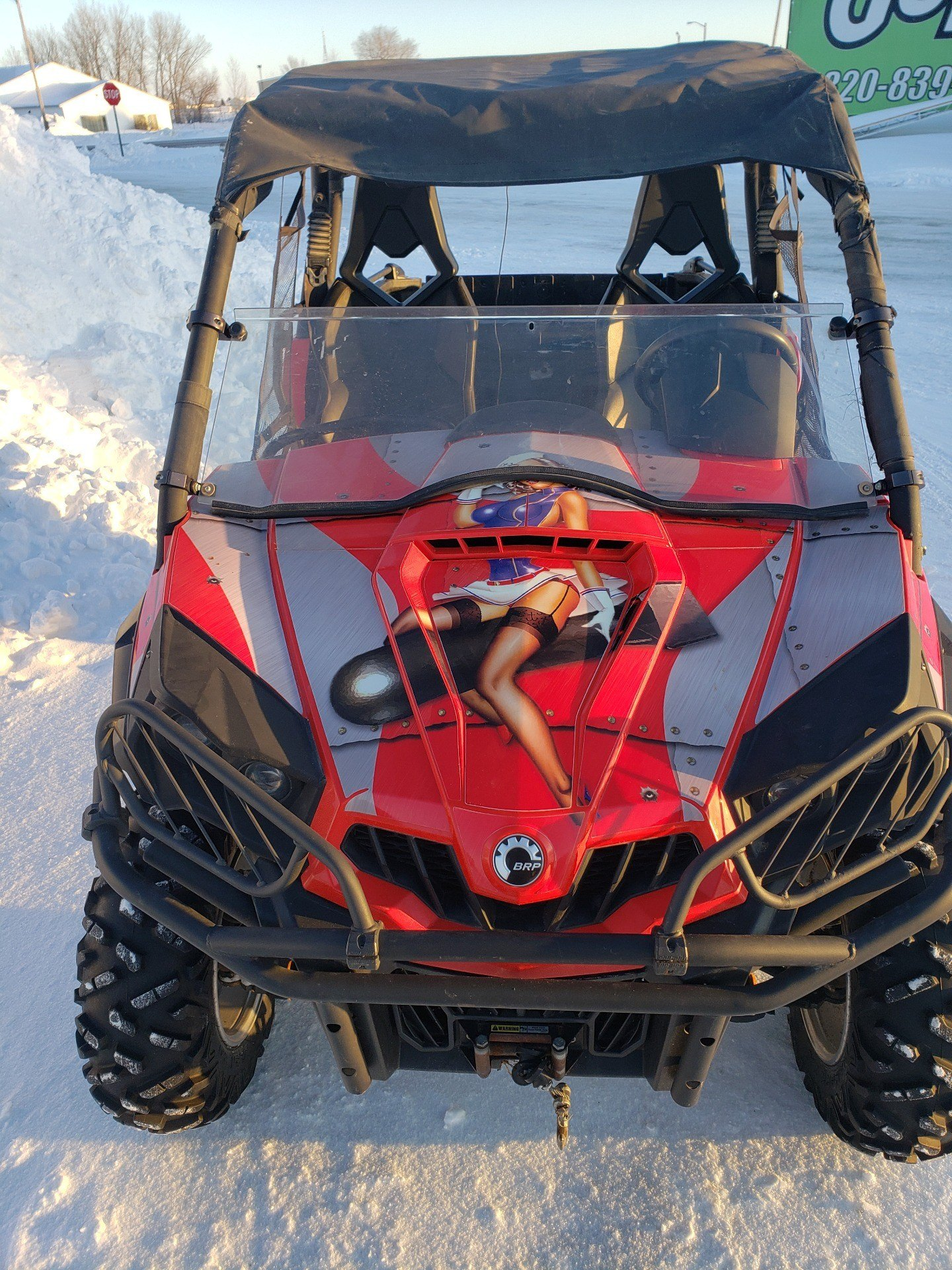 2012 Can-Am Commander™ 1000 XT in Ortonville, Minnesota - Photo 8