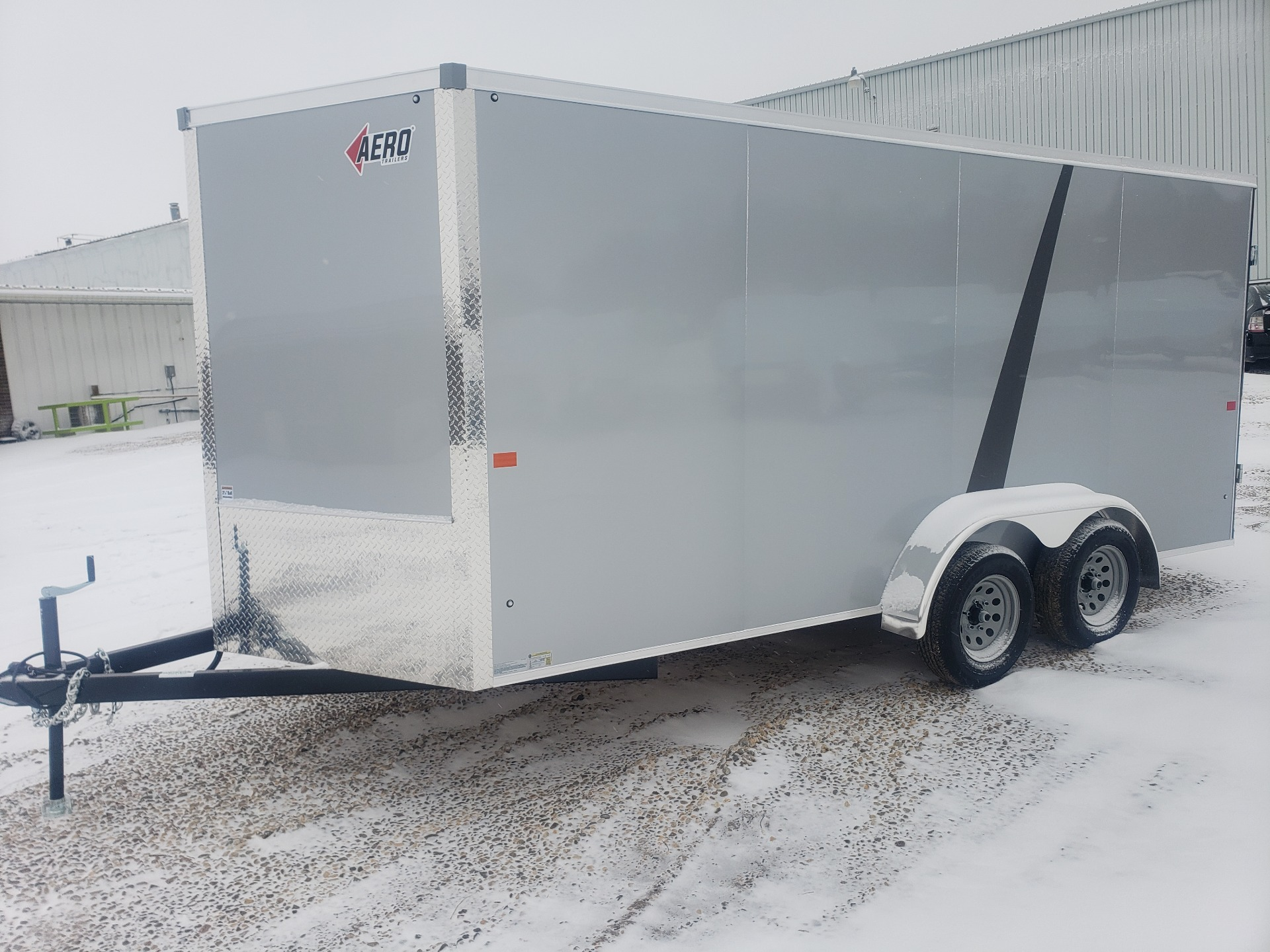 2021 AERO TRAILERS 7X16TA35 in Ortonville, Minnesota - Photo 1