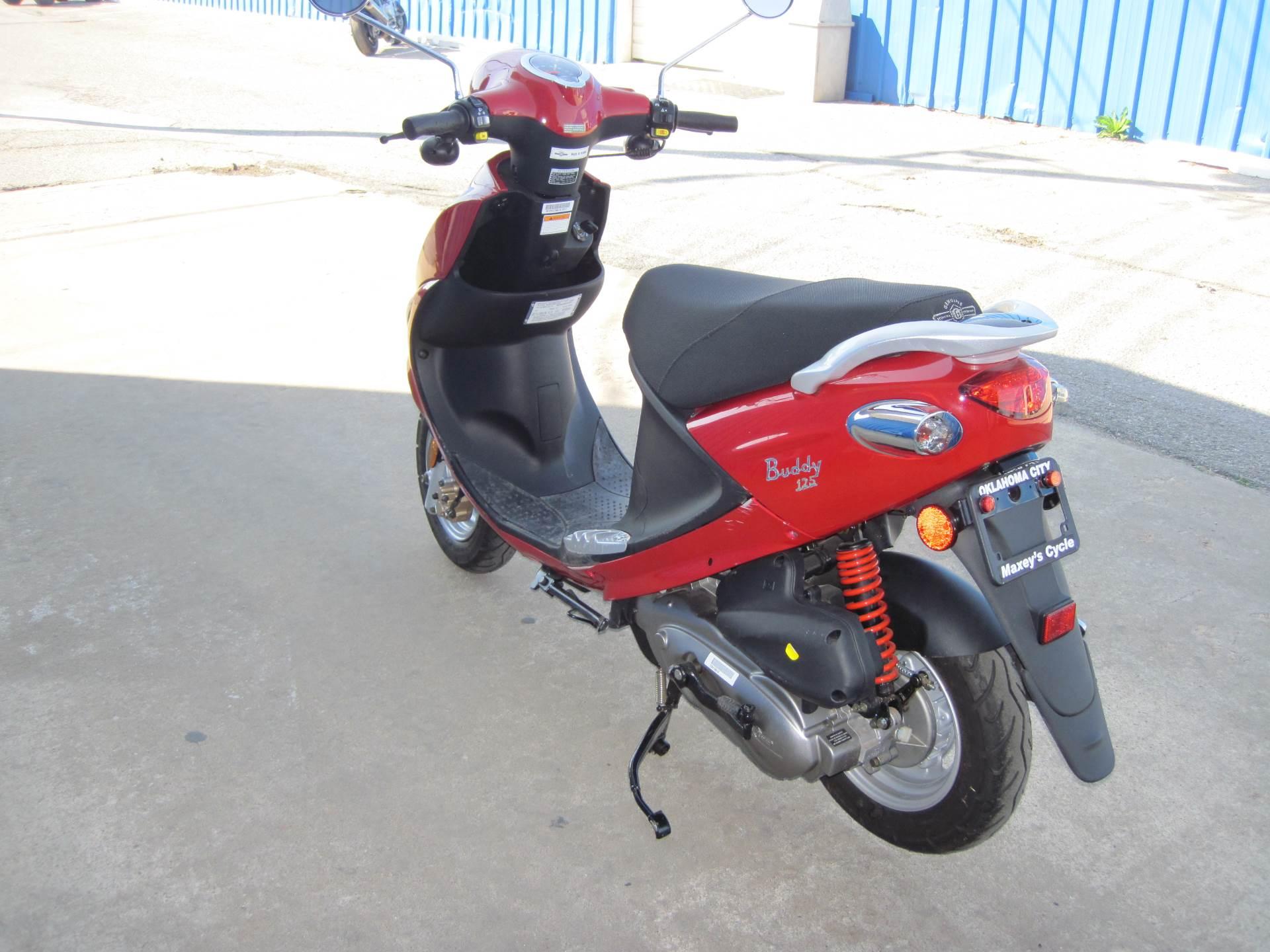 2012 Genuine Scooters Buddy 125 in Oklahoma City, Oklahoma