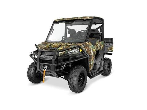 2016 Polaris Ranger XP 900 EPS Hunter Deluxe Edition in Leesville, Louisiana