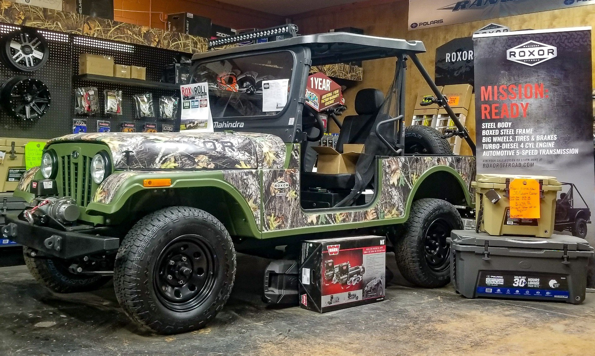 2019 Mahindra Automotive North America ROXOR Offroad in Leesville, Louisiana - Photo 1