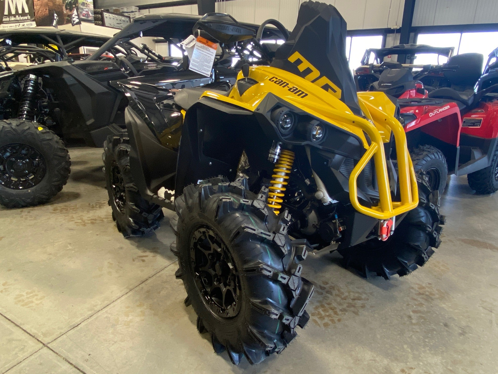2021 Can-Am Renegade X MR 1000R with Visco-4Lok in Erda, Utah
