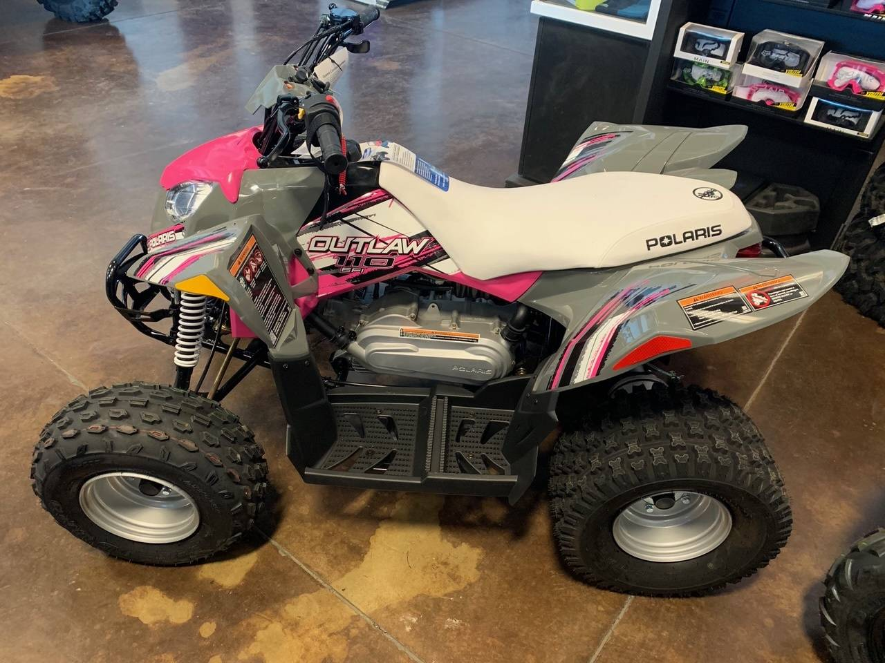 2020 Polaris Outlaw 110 in Tulare, California - Photo 1