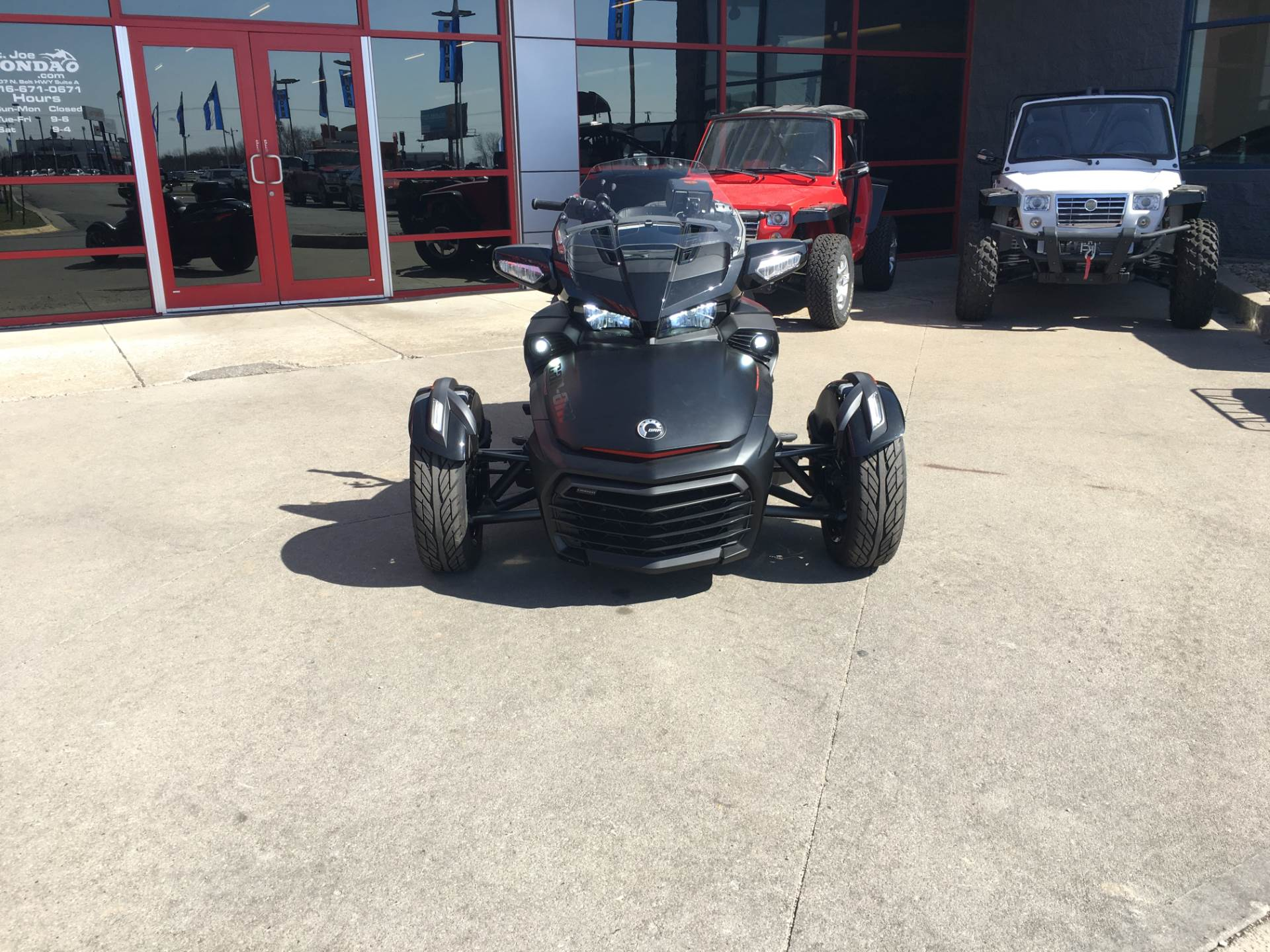 Used 2016 Can Am Spyder F3 T Se6 W Audio System