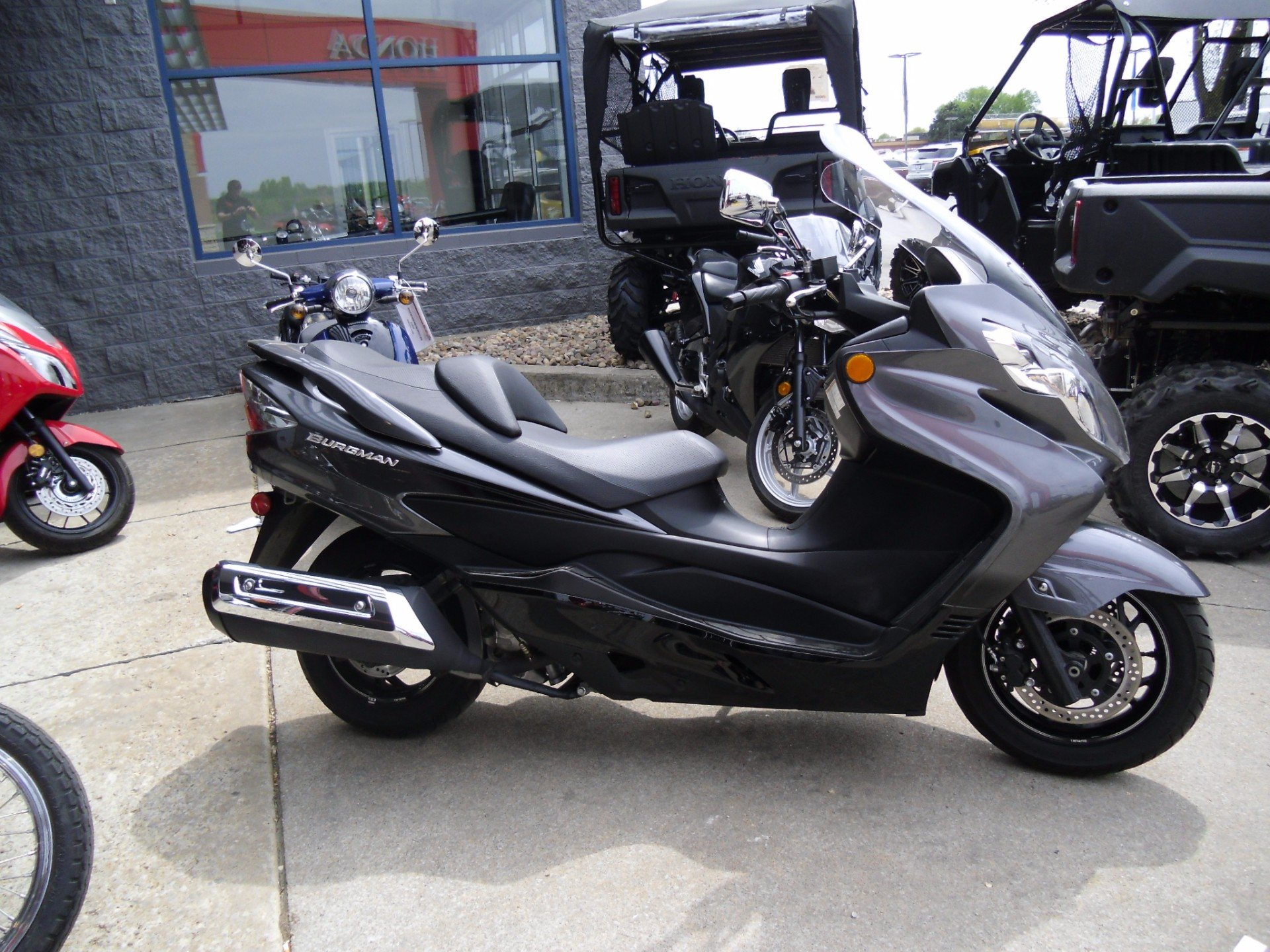 2012 Suzuki Burgman™ 400 ABS in Saint Joseph, Missouri