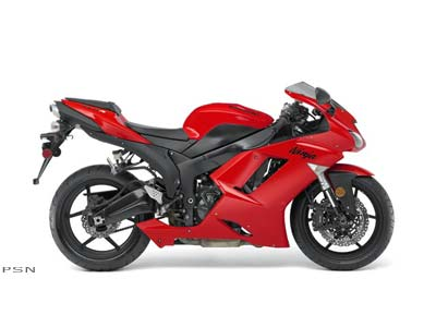 2007 Kawasaki Ninja® ZX™-6R in Johnson City, Tennessee
