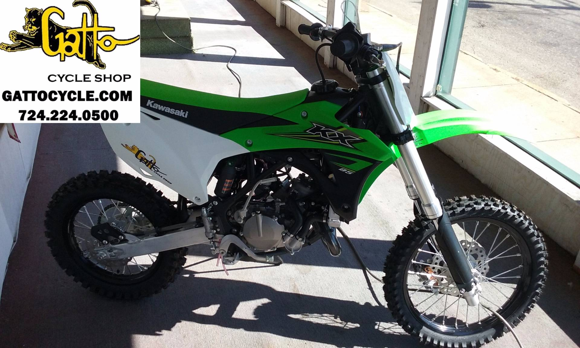 2017 Kawasaki KX85 in Tarentum, Pennsylvania - Photo 1