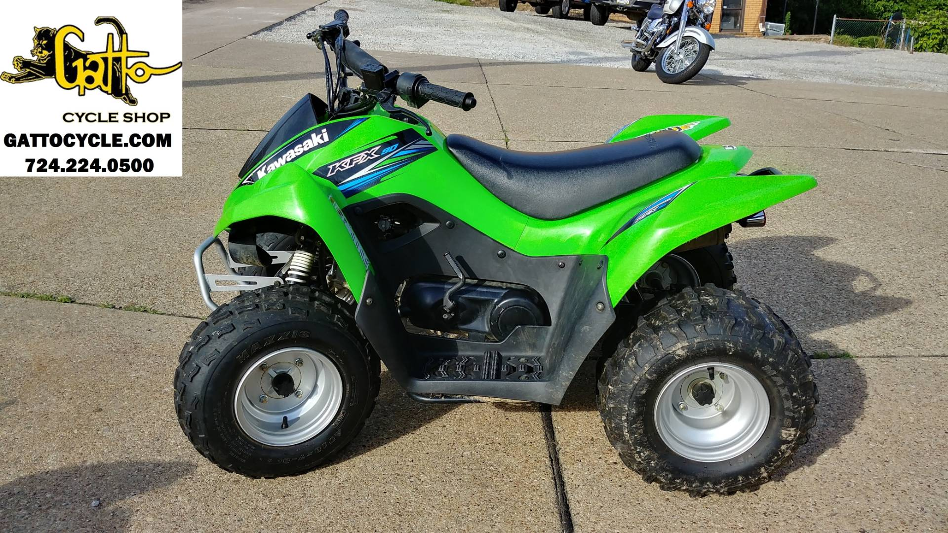 2014 Kawasaki KFX®90 in Tarentum, Pennsylvania - Photo 1
