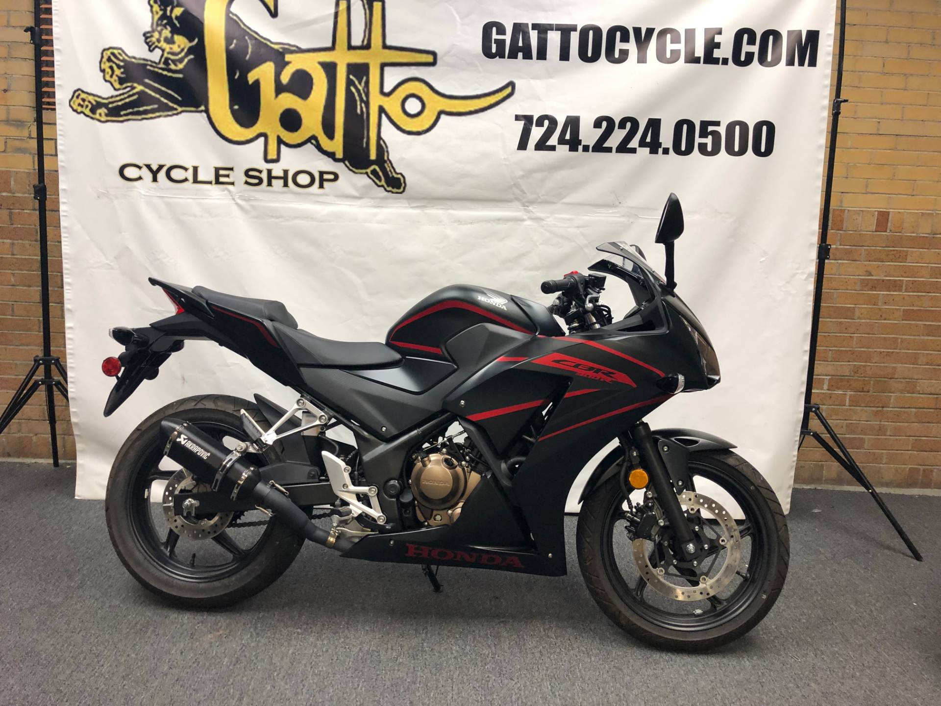 2018 Honda CBR300R in Tarentum, Pennsylvania - Photo 3