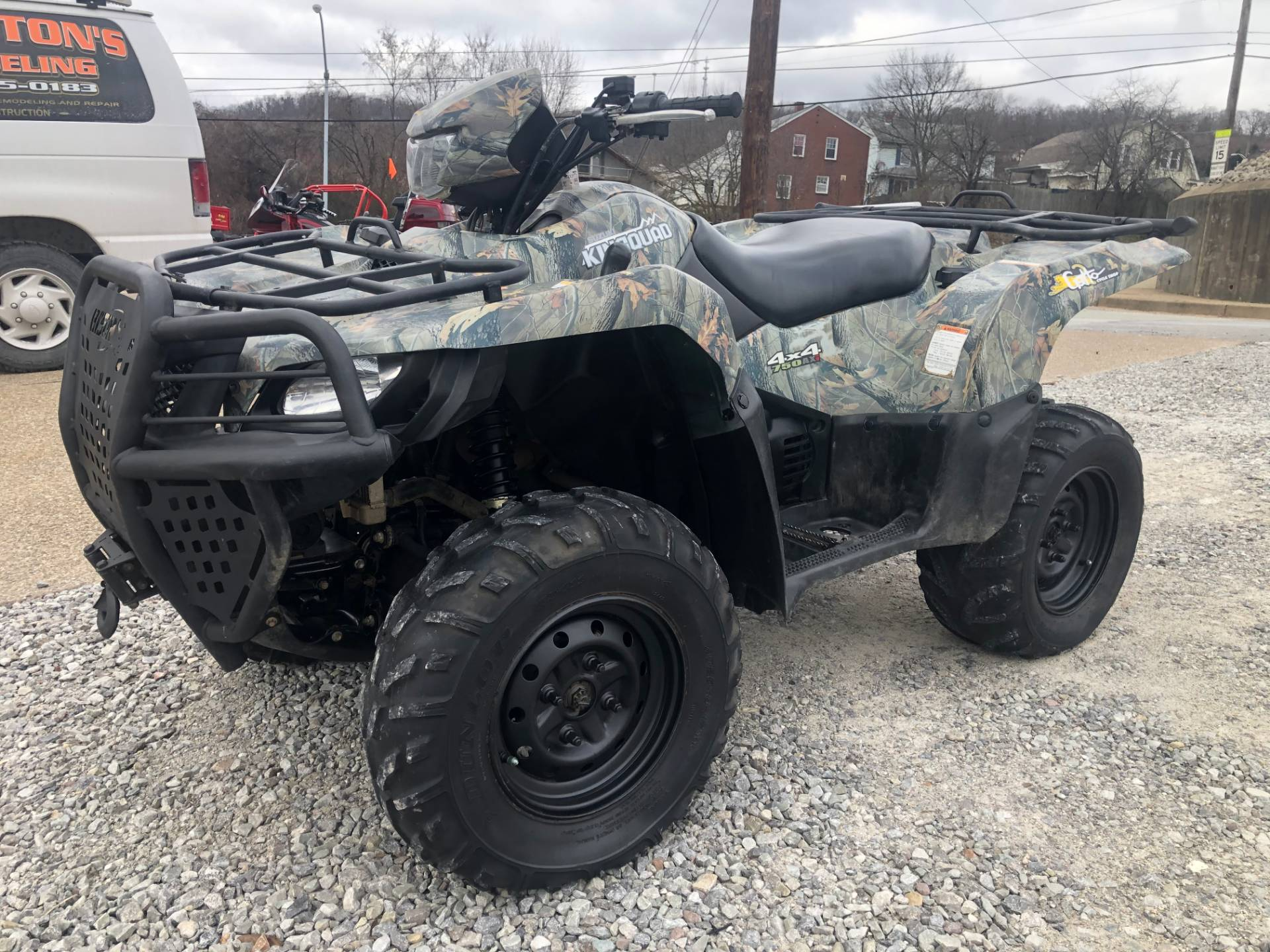 2012 Suzuki KingQuad® 750AXi Camo in Tarentum, Pennsylvania - Photo 2