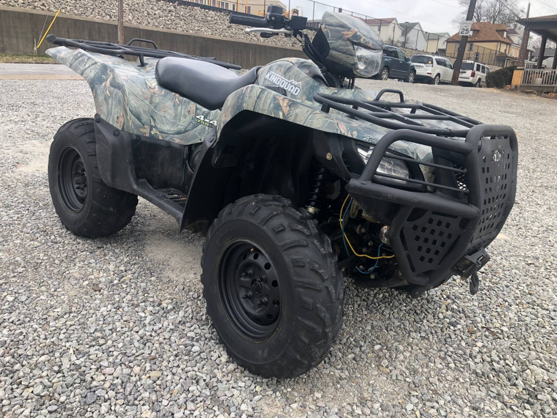 2012 Suzuki KingQuad® 750AXi Camo in Tarentum, Pennsylvania - Photo 4