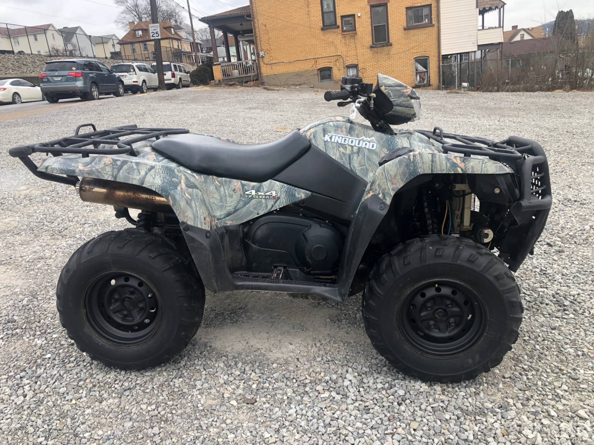 2012 Suzuki KingQuad® 750AXi Camo in Tarentum, Pennsylvania - Photo 5