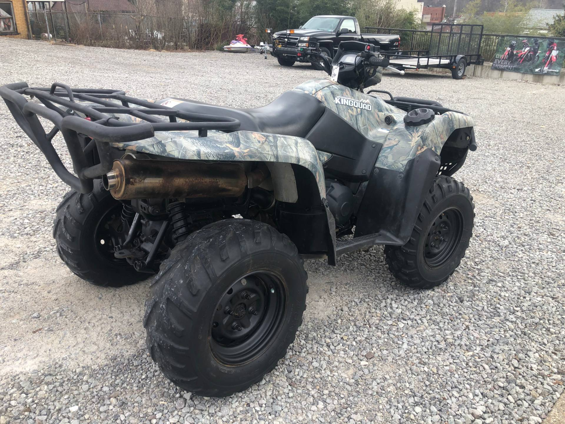 2012 Suzuki KingQuad® 750AXi Camo in Tarentum, Pennsylvania - Photo 6