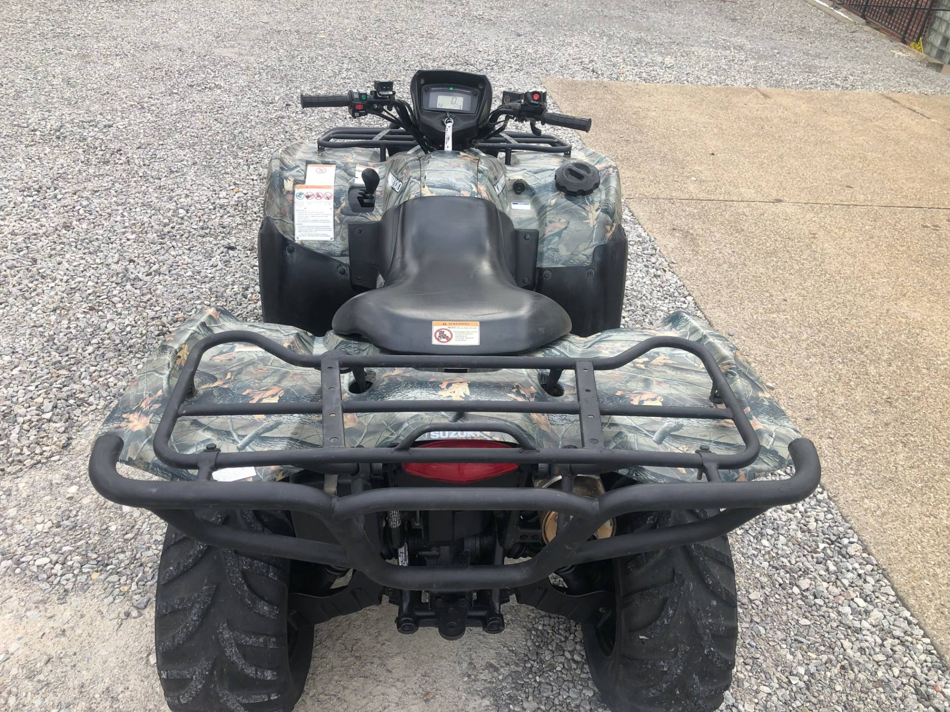 2012 Suzuki KingQuad® 750AXi Camo in Tarentum, Pennsylvania - Photo 8
