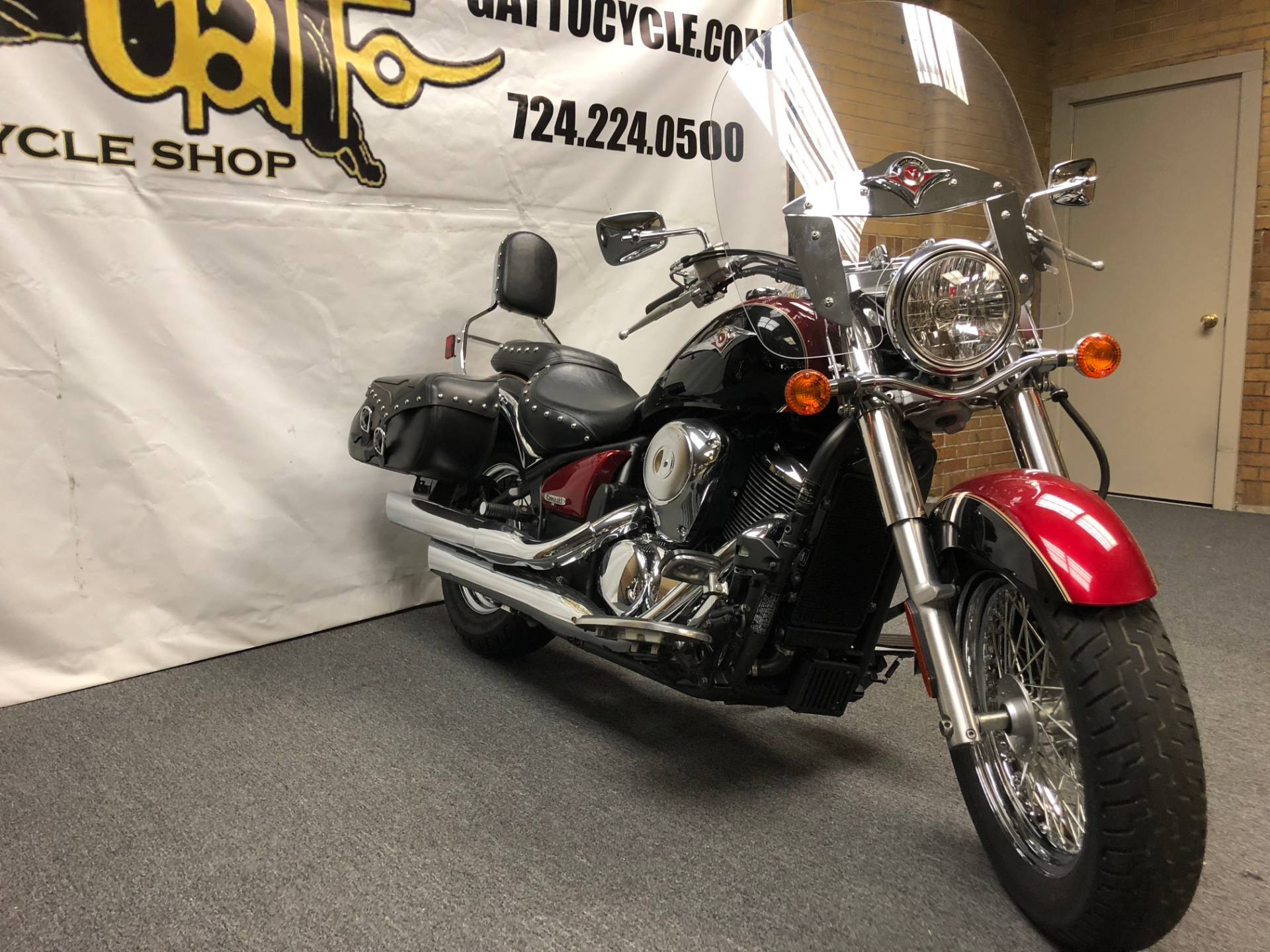 2008 Kawasaki Vulcan® 900 Classic LT in Tarentum, Pennsylvania - Photo 5