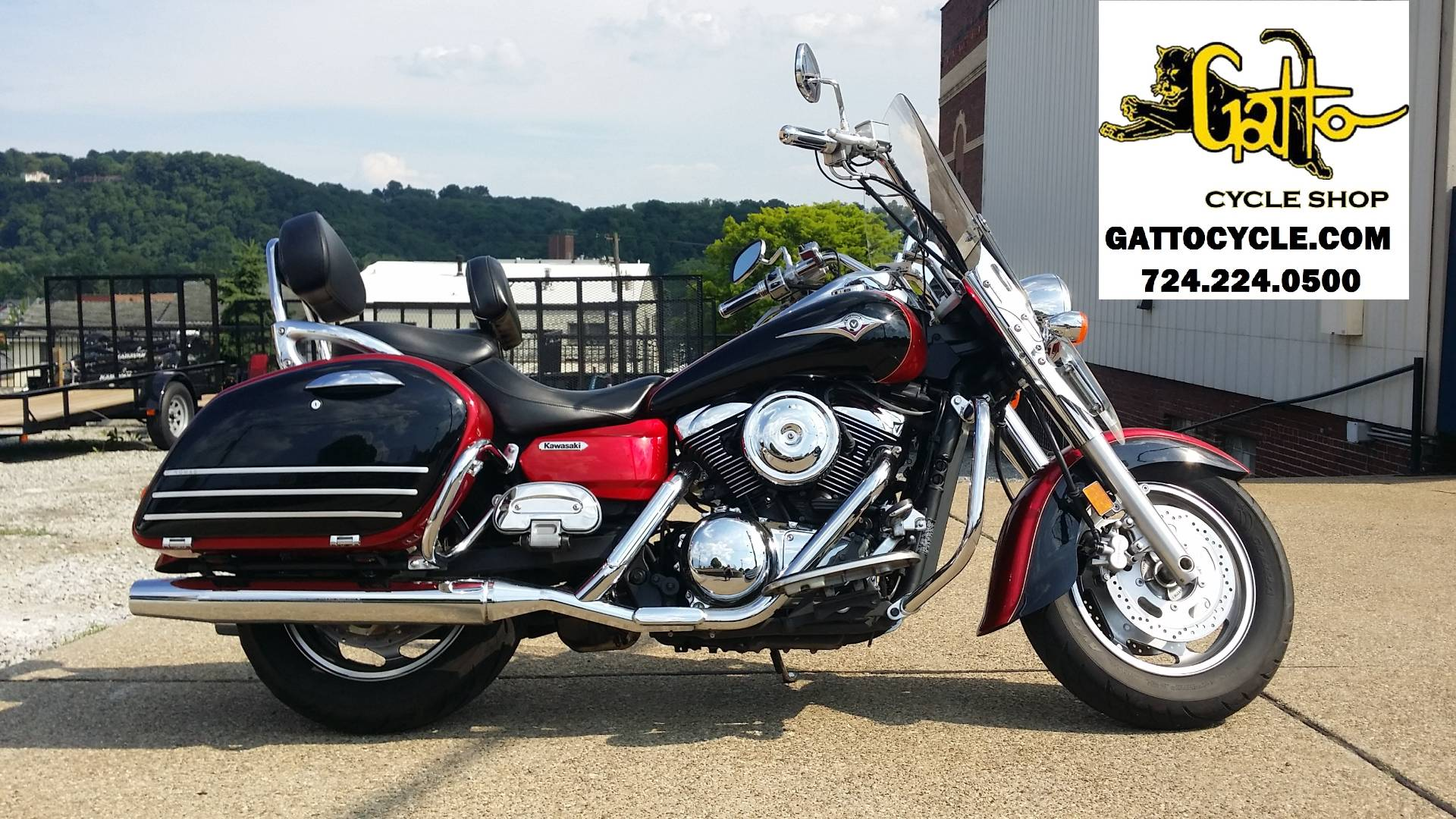Used 2008 Kawasaki Vulcan® 1600 Nomad™ Motorcycles in Tarentum, PA ...