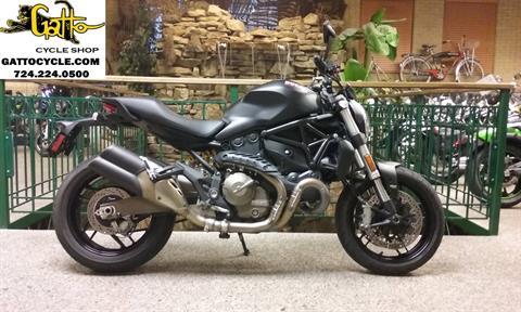 2015 Ducati Monster 821 Dark in Tarentum, Pennsylvania