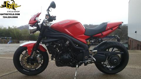 2011 Triumph Speed Triple in Tarentum, Pennsylvania