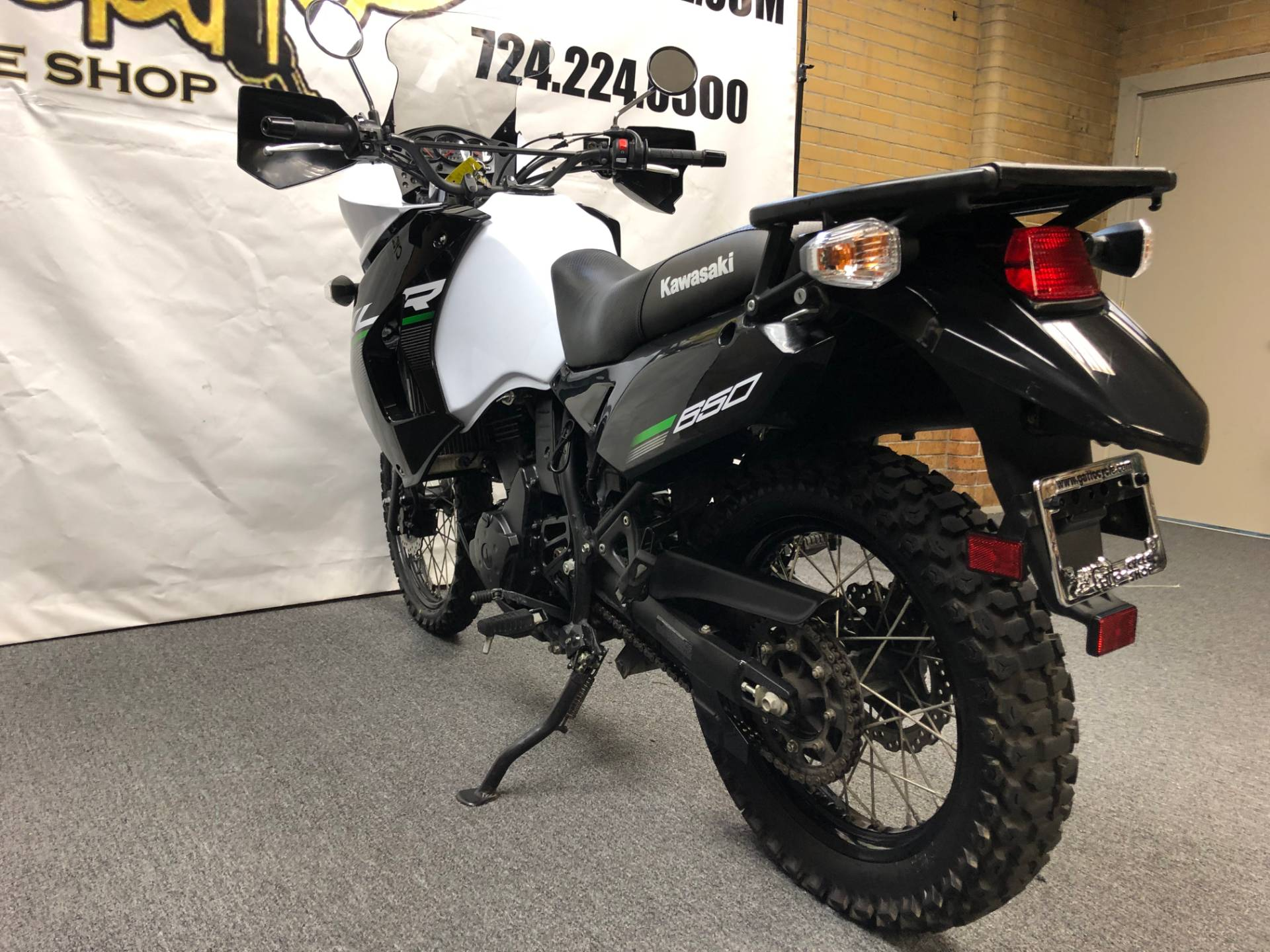 2015 Kawasaki KLR™650 in Tarentum, Pennsylvania - Photo 3