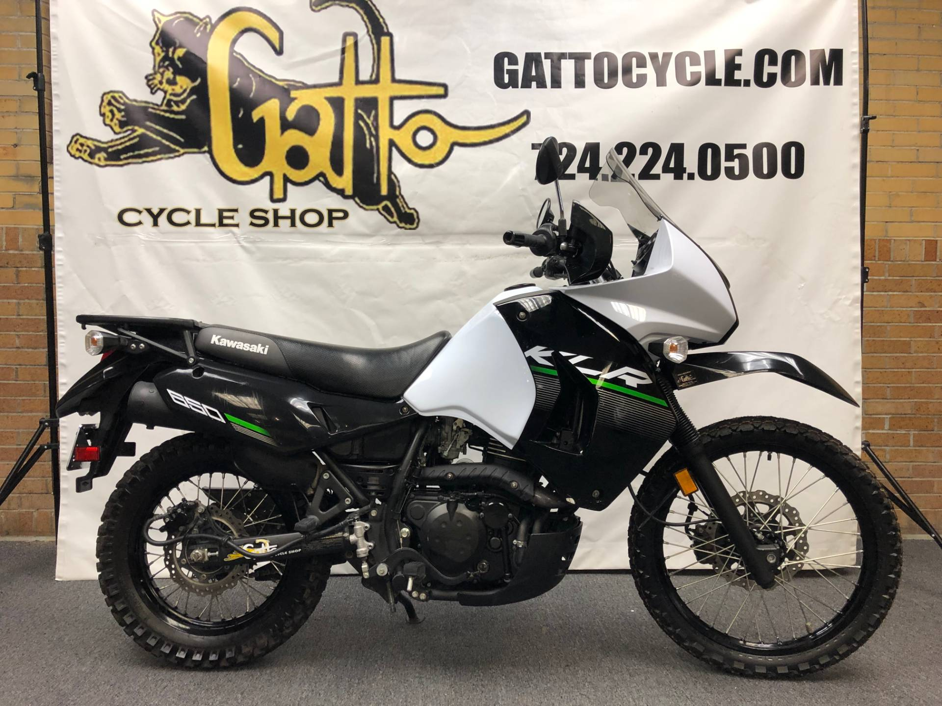2015 Kawasaki KLR™650 in Tarentum, Pennsylvania - Photo 2