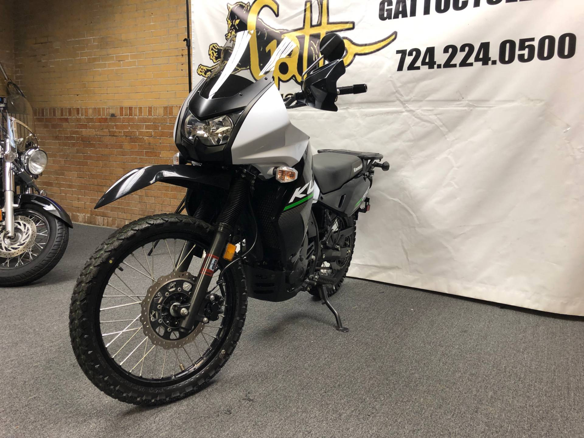 2015 Kawasaki KLR™650 in Tarentum, Pennsylvania - Photo 8