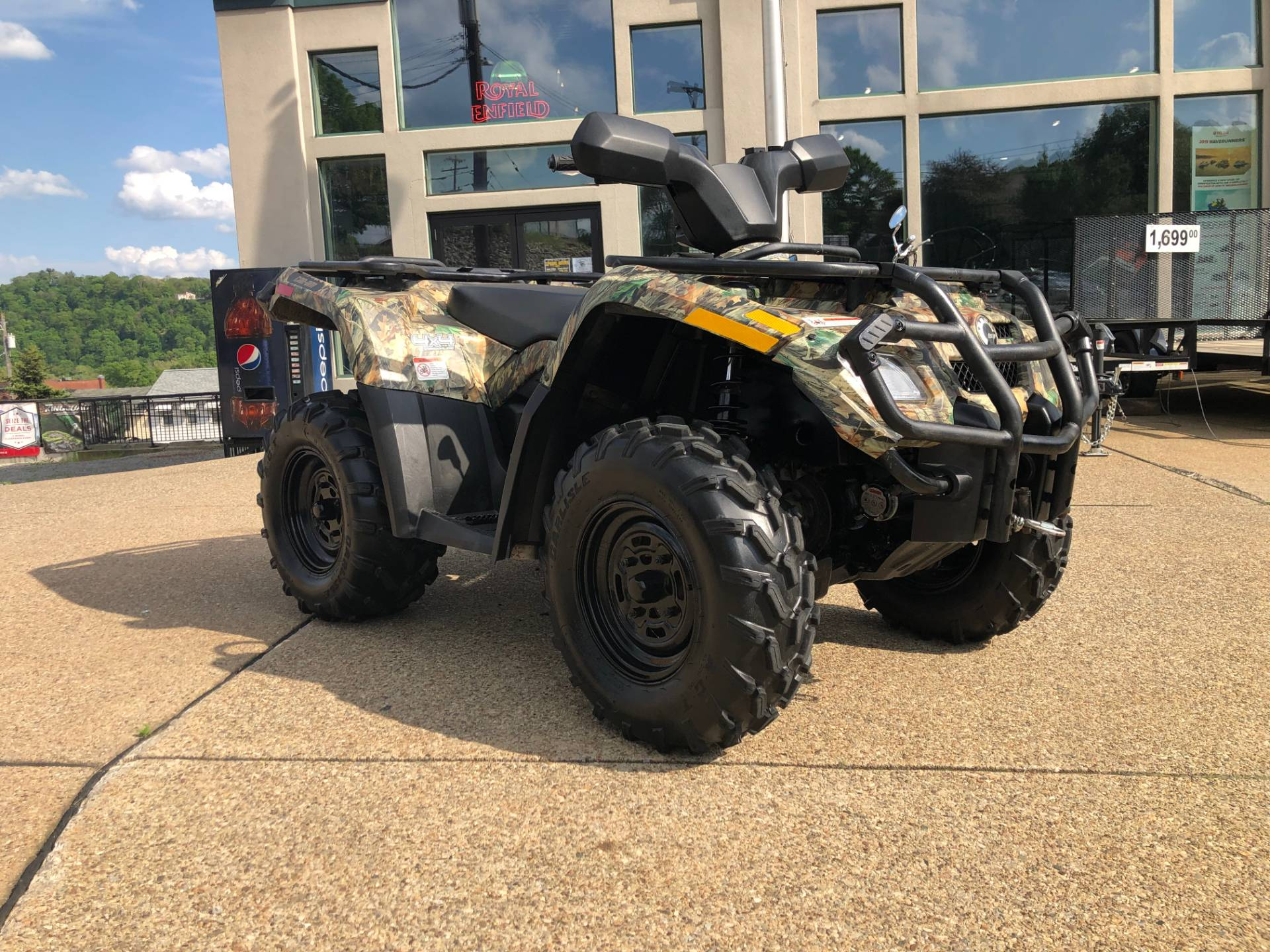 2007 Can-Am Outlander™ XT 400 H.O. in Tarentum, Pennsylvania - Photo 4