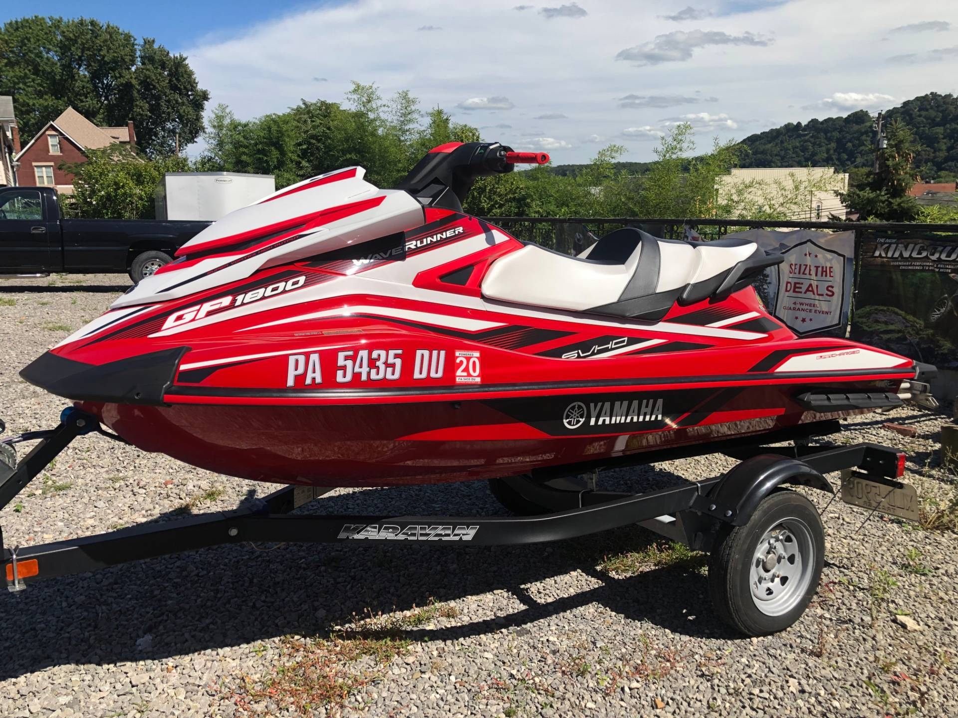 2017 Yamaha GP 1800 in Tarentum, Pennsylvania - Photo 1