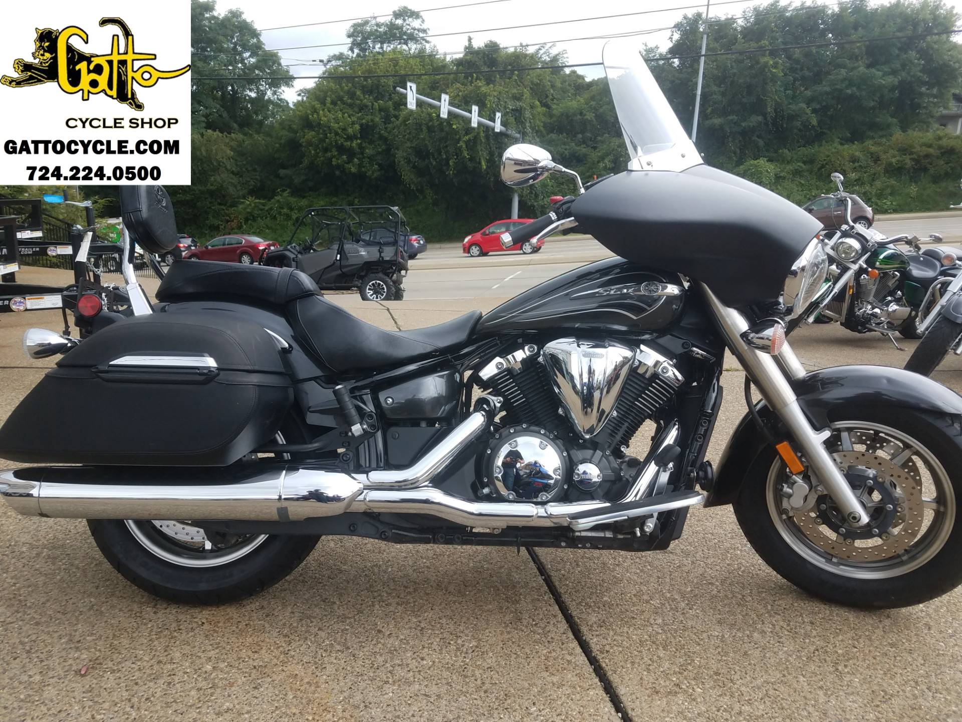 2012 Yamaha V Star 1300 Tourer in Tarentum, Pennsylvania