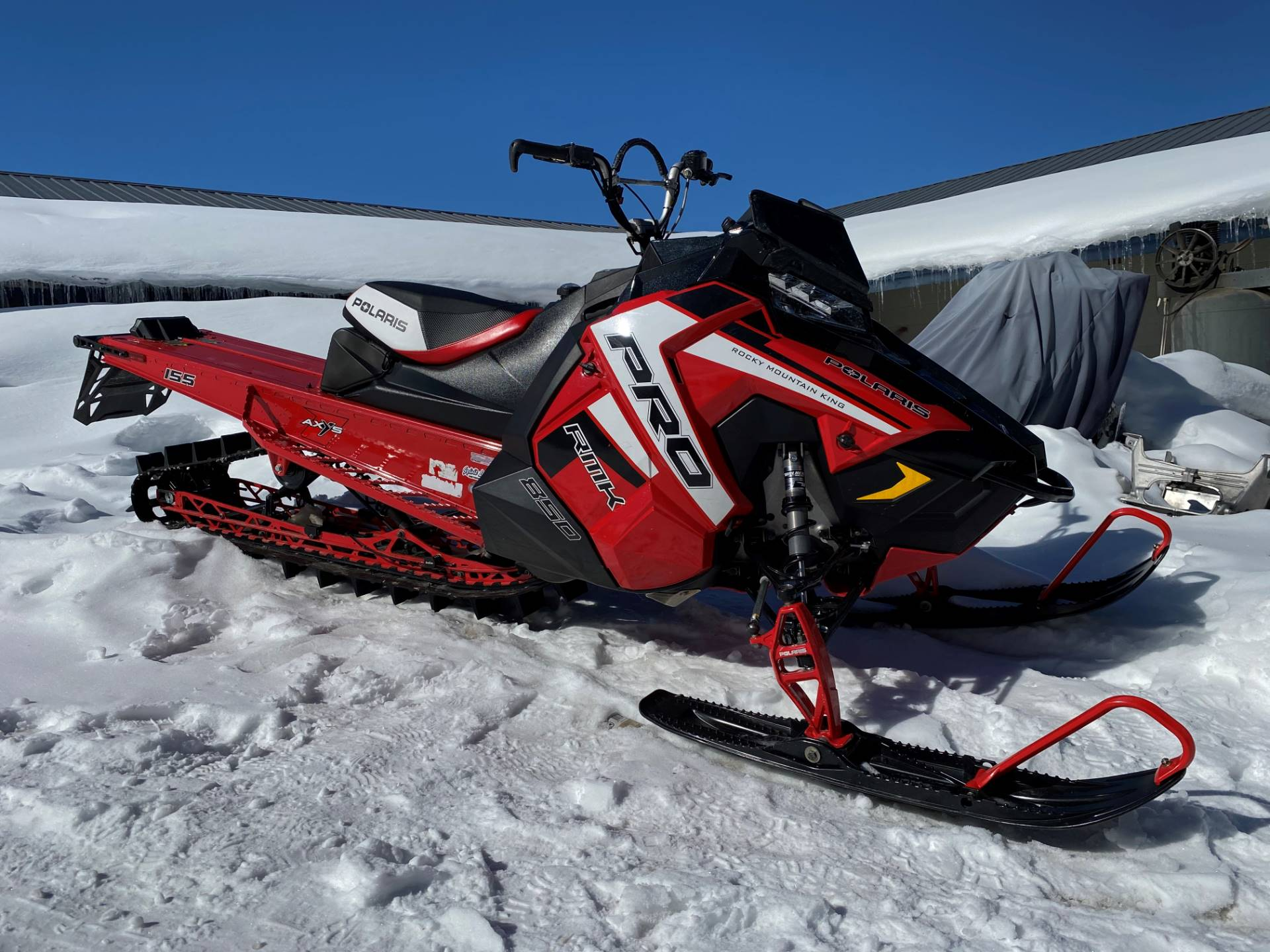 2019 Polaris 850 PRO-RMK 155 SnowCheck Select in Grand Lake, Colorado