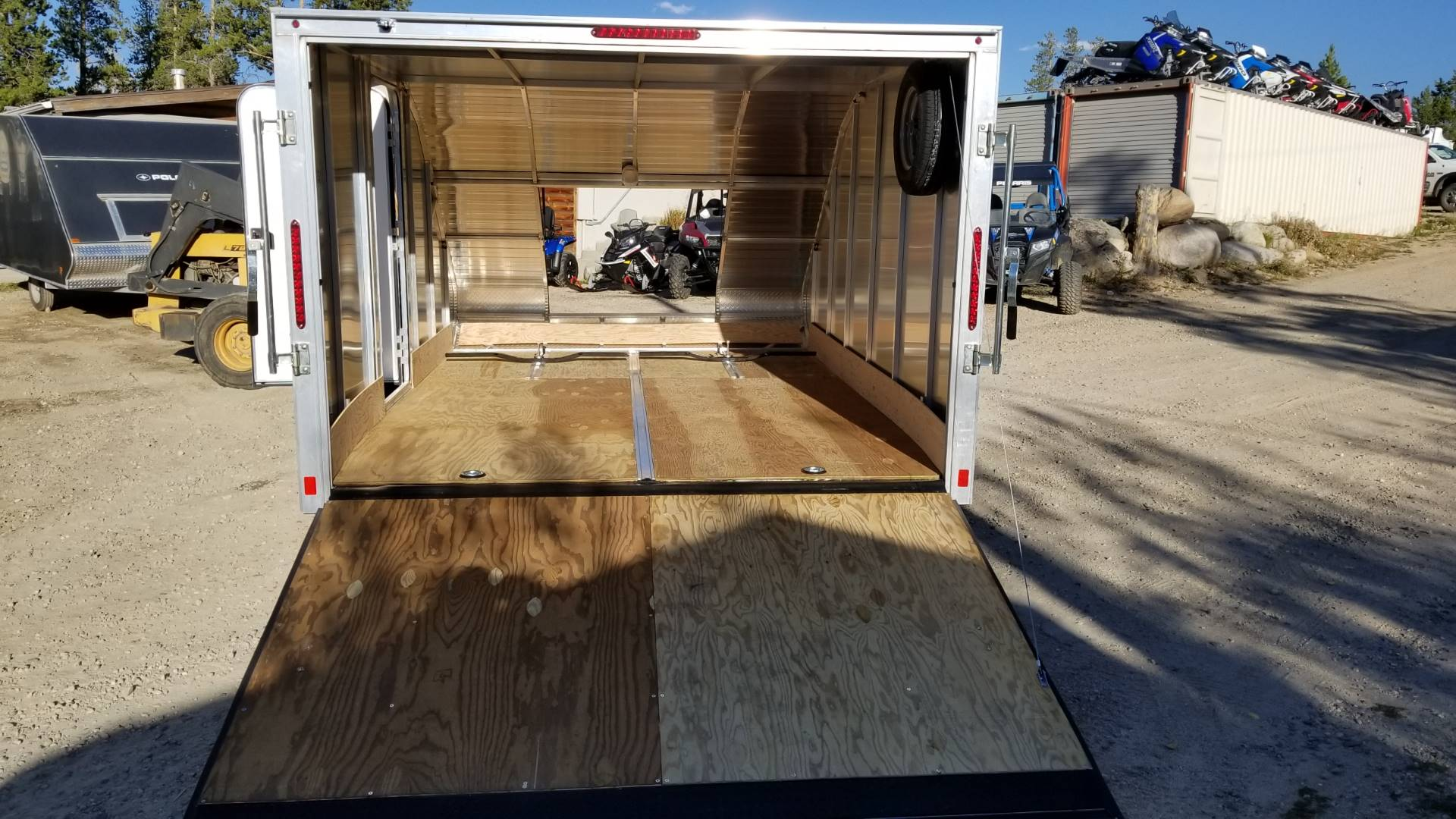 2019 Triton Trailers 12' ENCLOSED HYBRID in Grand Lake, Colorado - Photo 4