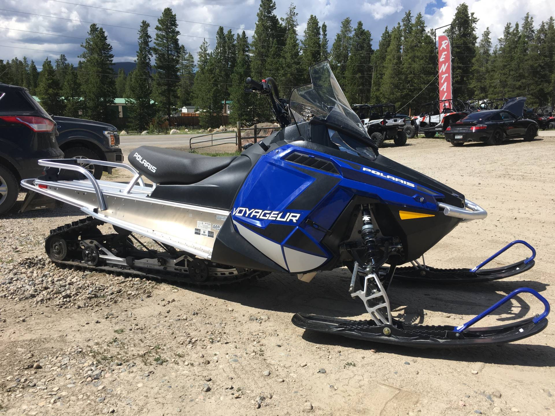 2019 Polaris 550 Voyageur 155 ES in Grand Lake, Colorado - Photo 1