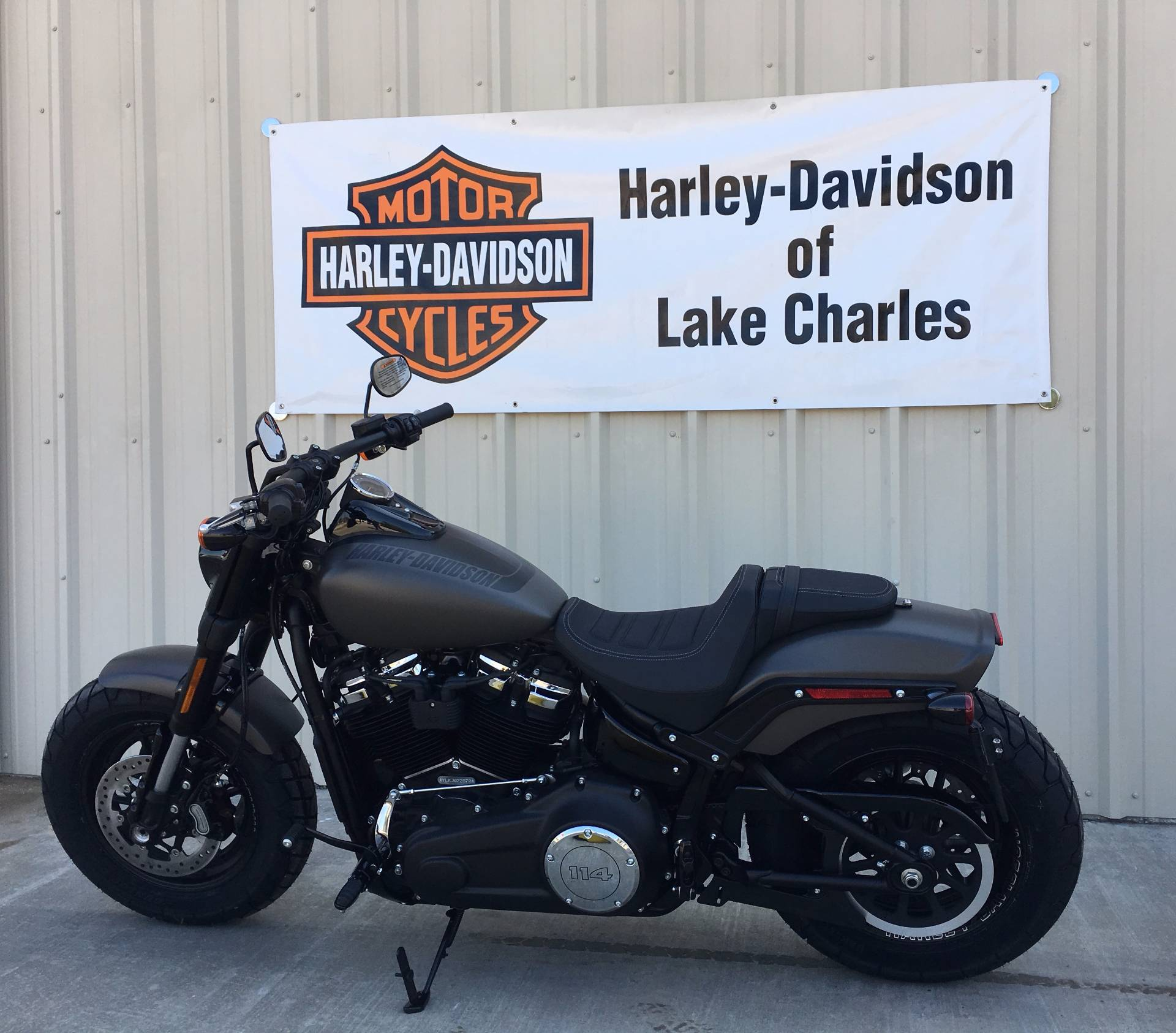 2018 Harley-Davidson Fat Bob®114 in Lake Charles, Louisiana