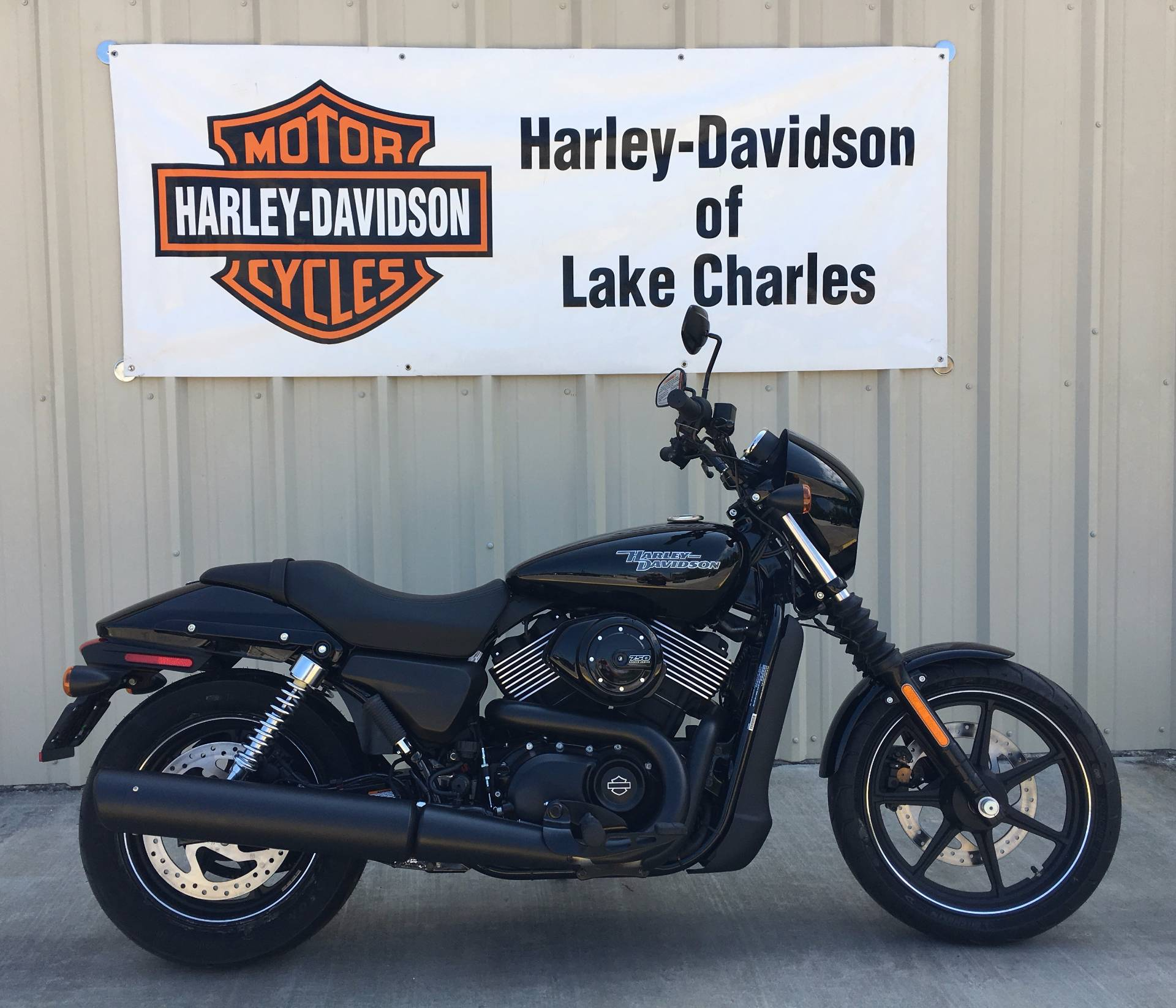 new 2017 harley davidson street 750 motorcycles in lake charles la stock number 502031. Black Bedroom Furniture Sets. Home Design Ideas