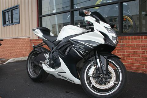 2011 Suzuki GSX-R600™ in Norfolk, Virginia