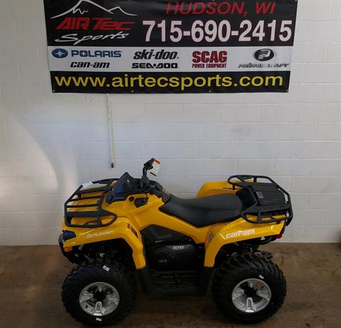 2017 Can-Am Outlander DPS 570 in Hudson, Wisconsin