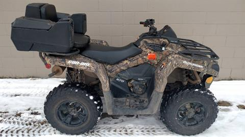 2016 Can-Am Outlander L DPS 570 in Hudson, Wisconsin